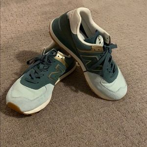 Super cute teal new balance sneakers
